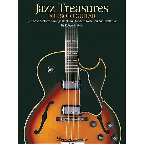 Hal Leonard Jazz Treasures for Solo Guitar