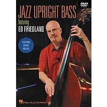 Hal Leonard Jazz Upright Bass DVD Featuring Ed Friedland