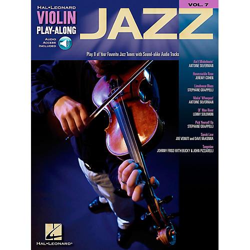 Hal Leonard Jazz Violin Play-Along Volume 7 Book/CD