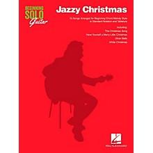 Hal Leonard Jazzy Christmas - Beginning Solo Guitar