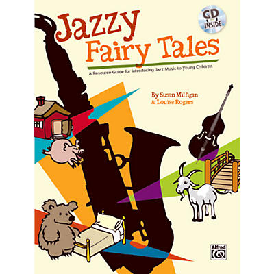 Alfred Jazzy Fairy Tales Book & CD