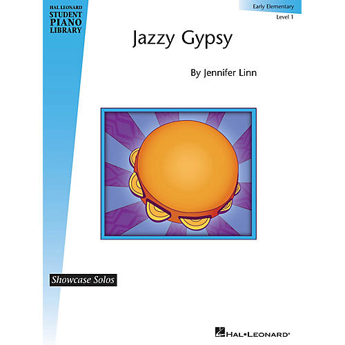 Hal Leonard Jazzy Gypsy Piano Library Series by Jennifer Linn (Level Early Elem)