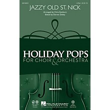 Hal Leonard Jazzy Old St. Nick 2-Part arranged by Chris Eastburn