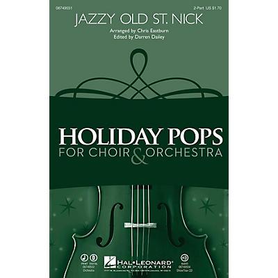 Hal Leonard Jazzy Old St. Nick ShowTrax CD Arranged by Chris Eastburn