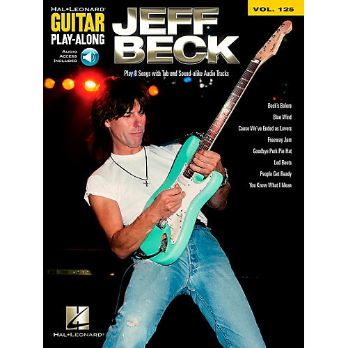 Hal Leonard Jeff Beck - Guitar Play-Along Volume 125 Book/CD