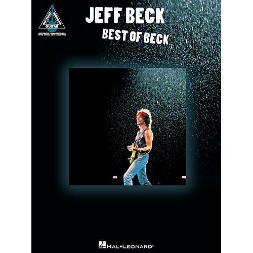 Hal Leonard Jeff Beck - The Best Of Beck