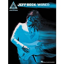 Hal Leonard Jeff Beck - Wired Guitar Tab Songbook