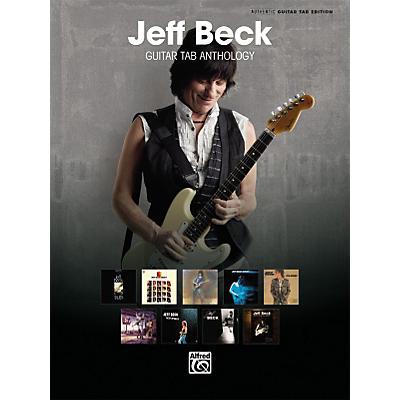 Alfred Jeff Beck Guitar TAB Anthology