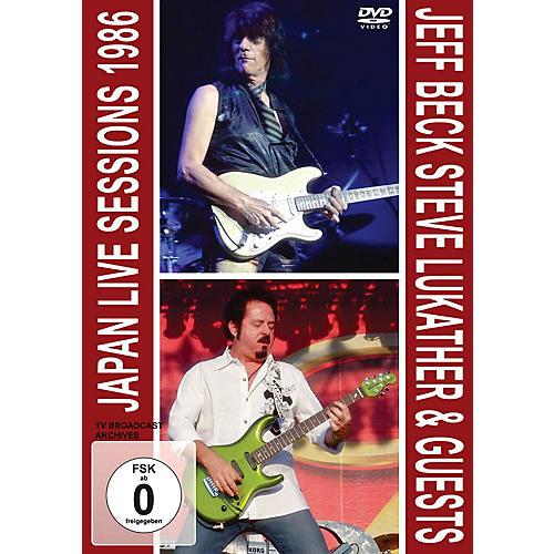 MVD Jeff Beck & Steve Lukather - Japan Live Session 1986 Live/DVD Series DVD Performed by Steve Lukather