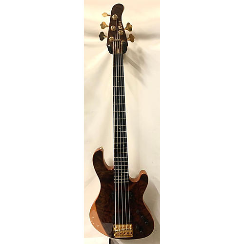 Cort Jeff Berlin Series Rithimic V Electric Bass Guitar Mahogany