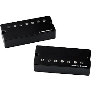 seymour duncan jeff loomis blackout 7 string set humbucker guitar pickups with active mount. Black Bedroom Furniture Sets. Home Design Ideas