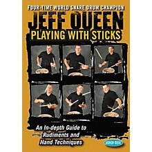 Hudson Music Jeff Queen - Playing with Sticks DVD