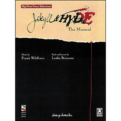 Cherry Lane Jekyll And Hyde - Selections From The Musical for Big Note Piano