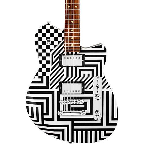 Reverend Jenn Wasner Signature Electric Guitar Optic Interruption