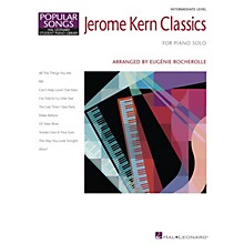 Hal Leonard Jerome Kern Classics Piano Library Series Book by Jerome Kern (Level Inter)