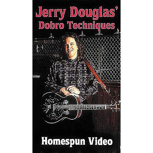 Homespun Jerry Douglas' Dobro Techniques (VHS)