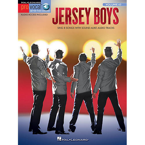 Jersey Boys Pro Vocal Series Softcover Audio Online