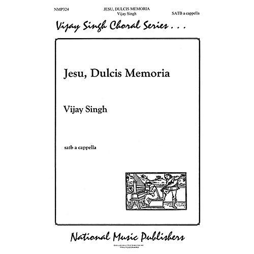 Hal Leonard Jesu Dulcis Memoria SATB composed by Vijay Singh