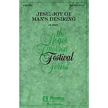 Hal Leonard Jesu, Joy of Man's Desiring 3-Part Mixed arranged by Roger Emerson