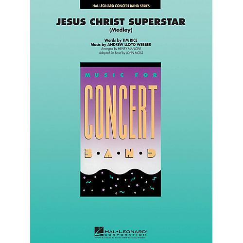 Hal Leonard Jesus Christ Superstar (Medley) Concert Band Level 4 Arranged by John Moss