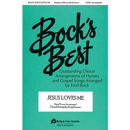 Fred Bock Music Jesus Loves Me 2-Part Arranged by Fred Bock