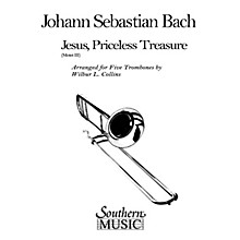 Southern Jesus, Priceless Treasure (Trombone Quintet) Southern Music Series Arranged by Wilbur Collins