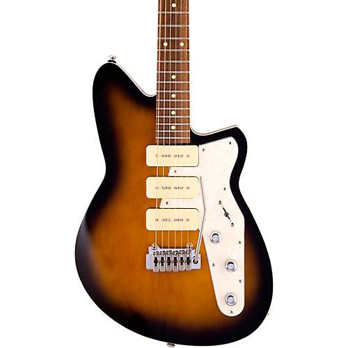Reverend Jetstream 390 Roasted Pau Ferro Fingerboard Electric Guitar Coffee Burst