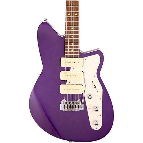 Reverend Jetstream 390 Roasted Pau Ferro Fingerboard Electric Guitar Italian Purple