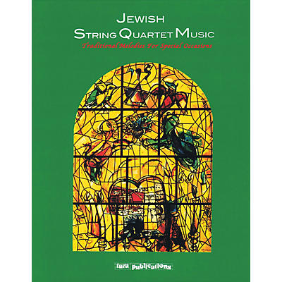 Tara Publications Jewish String Quartet Music Tara Books Series Softcover with CD
