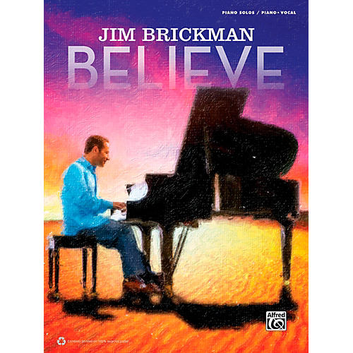 Alfred Jim Brickman - Believe Piano Solo & P/V/G Book