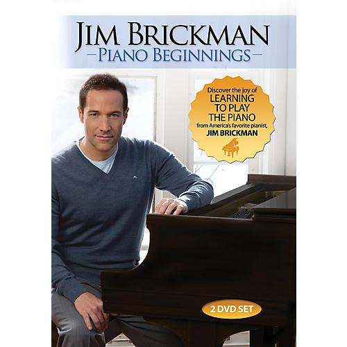 Alfred Jim Brickman Piano Beginnings 2 DVDs