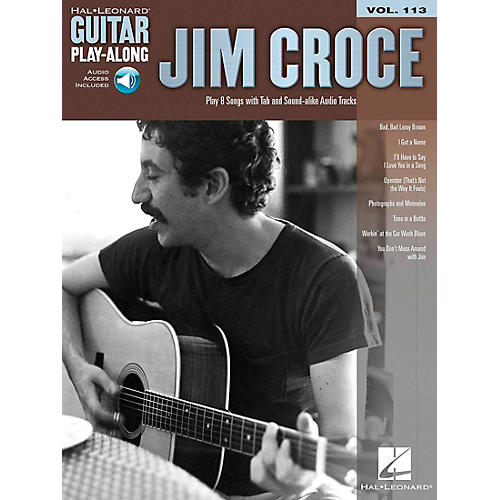 Hal Leonard Jim Croce - Guitar Play-Along Volume 113 (Book/Online Audio)