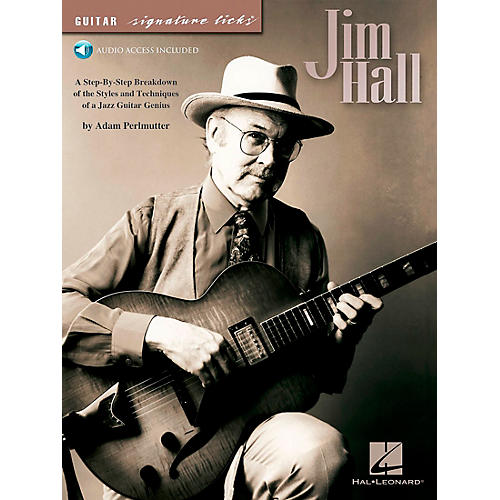 Hal Leonard Jim Hall - Guitar Signature Licks Series (Book/CD)
