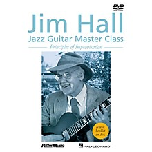 Rittor Music Jim Hall - Jazz Guitar Master Class (Principles of Improvisation) DVD Series DVD Performed by Jim Hall