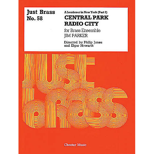 Music Sales Jim Parker: A Londoner In New York (Part 2) - Score/Parts (Just Brass No.58) Music Sales America Series