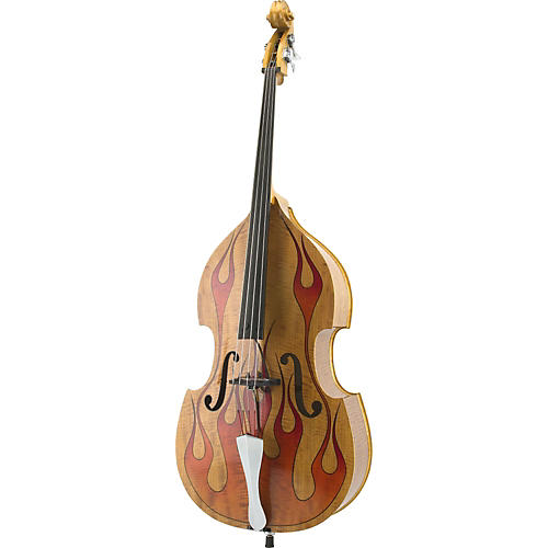 King Doublebass Jimbo Wallace Signature Tiger King Acoustic-Electric Upright Bass