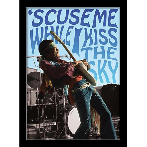 Ace Framing Jimi Hendrix - Kiss The Sky 24x36 Poster