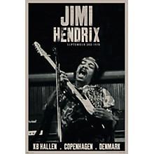 Hal Leonard Jimi Hendrix - Live Copenhagen - Wall Poster