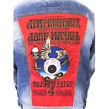Dragonfly Clothing Jimi Hendrix - Mayall - King - Flying Eye Womens Denim Jacket
