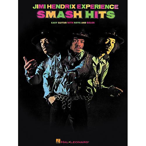Hal Leonard Jimi Hendrix - Smash Hits Easy Guitar Series Tab Songbook