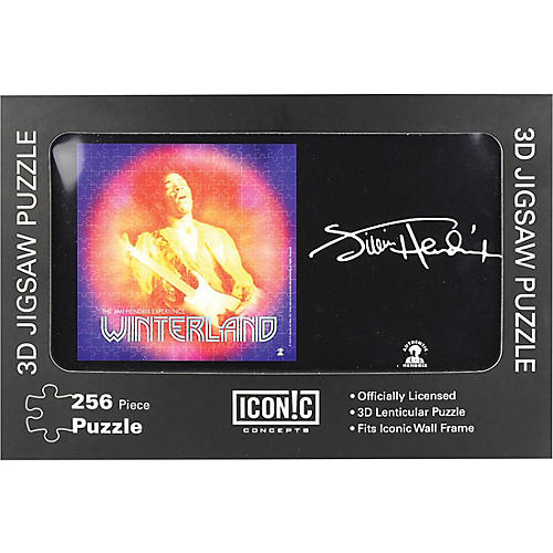 Iconic Concepts Jimi Hendrix - Winterland 3D Lenticular Jigsaw Puzzle