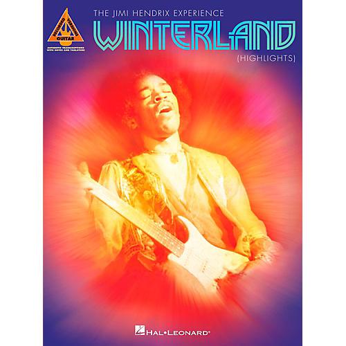 Hal Leonard Jimi Hendrix - Winterland (Highlights) Guitar Tab Songbook
