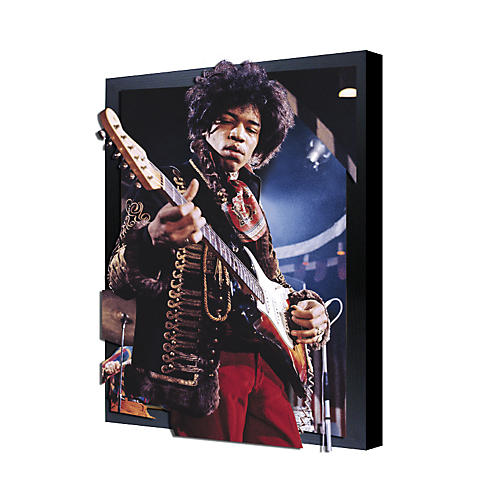 Ace Framing Jimi Hendrix 3D Framed Poster