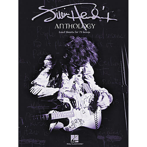 Hal Leonard Jimi Hendrix Anthology Guitar Chord Songbook