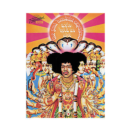 Hal Leonard Jimi Hendrix Axis: Bold As Love