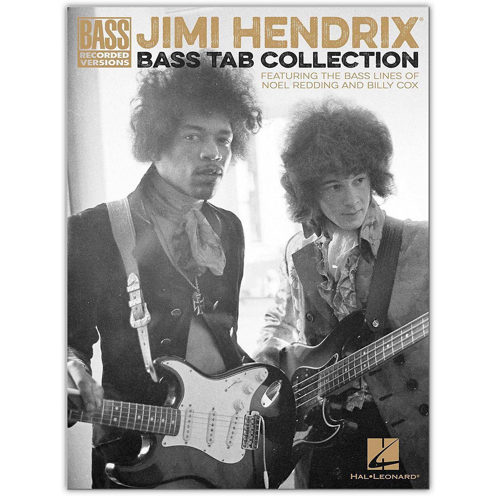 Hal Leonard Jimi Hendrix Bass Tab Collection