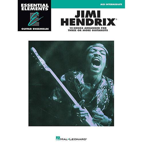 Hal Leonard Jimi Hendrix Essential Elements Guitar Series Softcover Performed by Jimi Hendrix