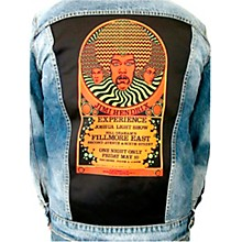 Dragonfly Clothing Jimi Hendrix Experience 3 Faces - Psychedelic Boys Denim Jacket
