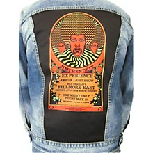 Dragonfly Clothing Jimi Hendrix Experience 3 Faces - Psychedelic Womens Denim Jacket