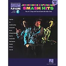 Hal Leonard Jimi Hendrix Experience Smash Hits Drum Play-Along Series Volume 11 Book with CD